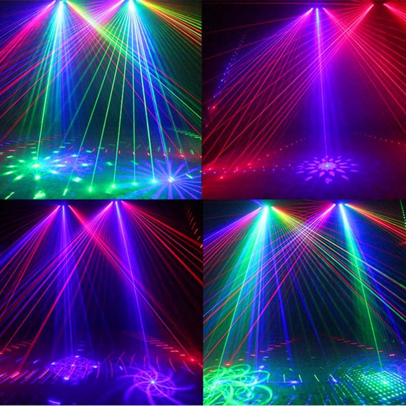 Exemplu efecte laser