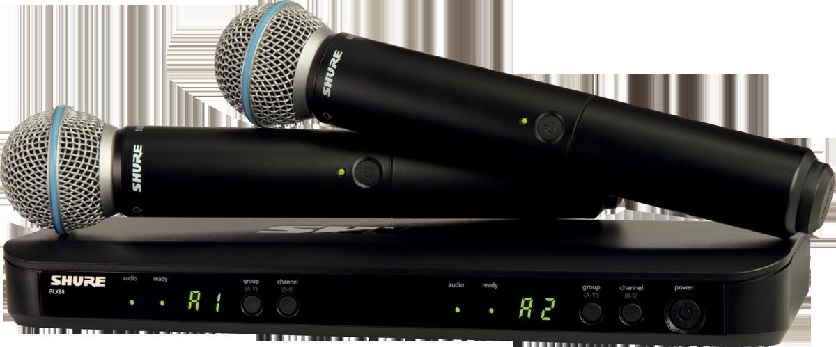 Microfoane wireless Shure